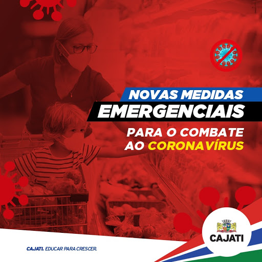 Cajati apresenta novos Decretos para o enfrentamento à COVID-19