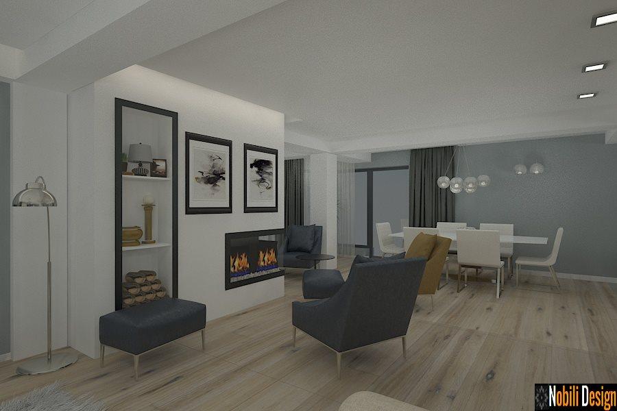 Design interior living modern casa Constanta - Design interior case moderne