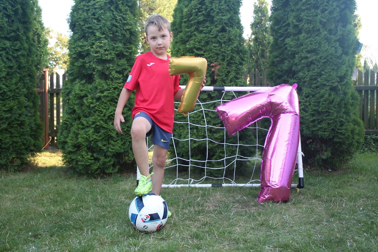sesja piłkarska na urodziny