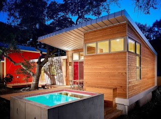 Ideias para piscinas pequenas para espaços pequenos.