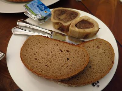Kaiserhaus, bone marrow butter bread