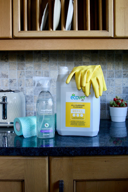 cleaning home kitchen Ecover Viking