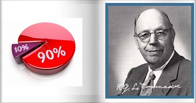 O Homem que devolvia 90% de Dízimo