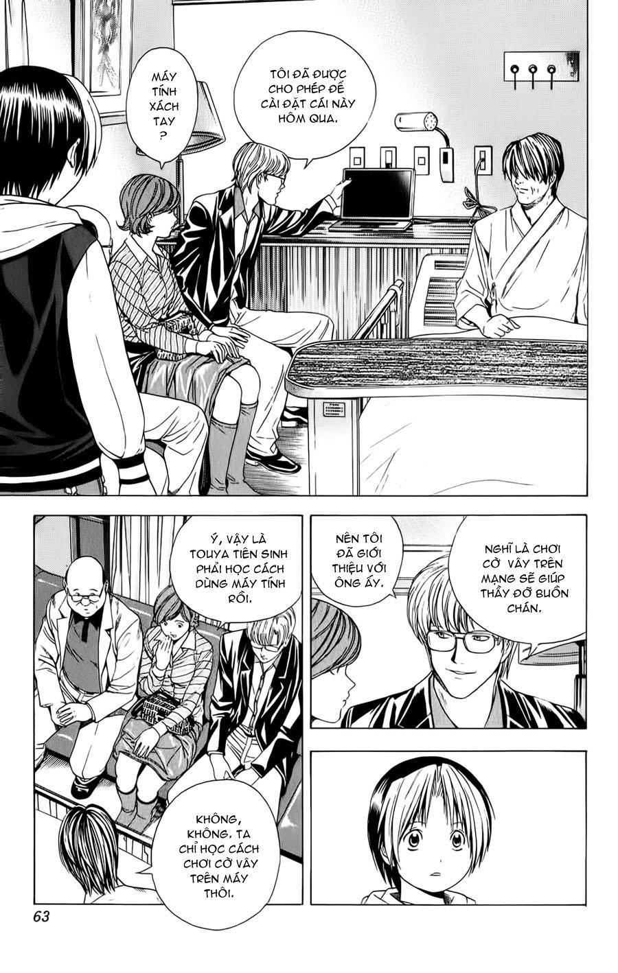 Hikaru No Go hikaru no go chap 107 trang 11