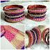 Style your jewellery - Silk thread bangles