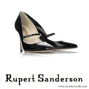 Crown Princess Mette Marit wore Rupert Sanderson Regal pumps