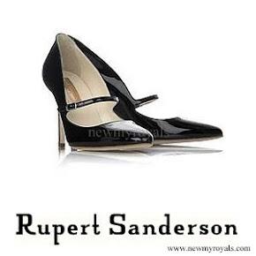 Crown Princess Mette Marit wore Rupert Sanderson Regal pumps