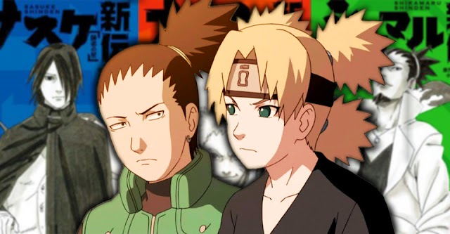 Naruto Shikamaru: Awan Berkabung Menampilkan Momen Terbaik Shikamaru & Temari