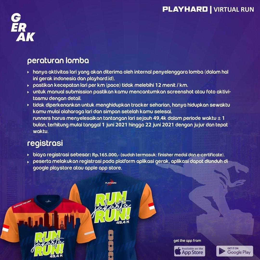 Rule 📜 Run Jakarta Run • 2021