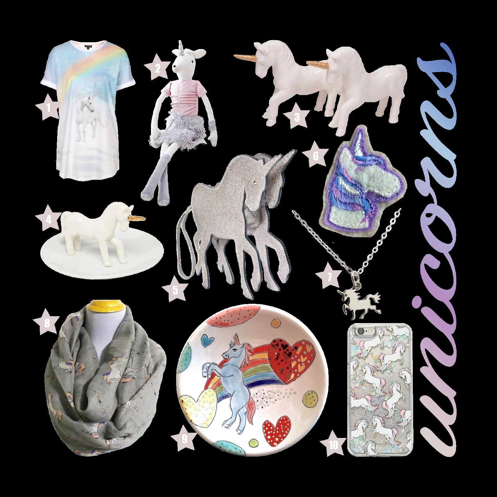 The Spinsterhood Diaries Gift Guide Unicorns