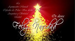 Felicitacion Navidad A.M. Angustias y Soledad Leon