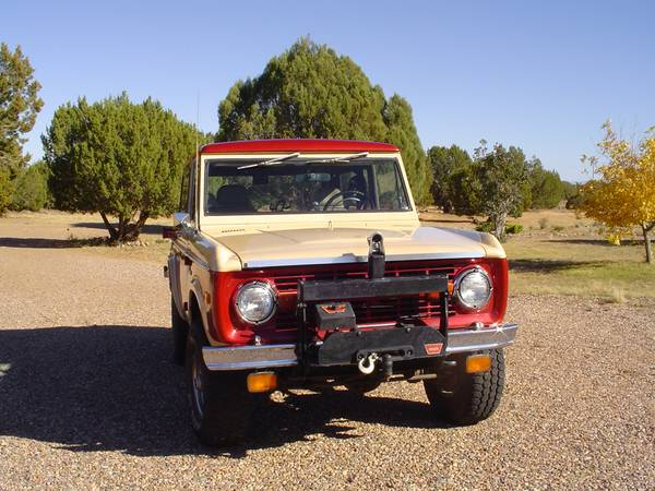 1970 Ford Bronco 4X4 For Sale