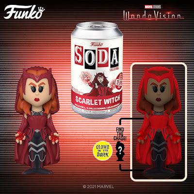 WandaVision Scarlet Witch Vinyl Soda Figure by Funko