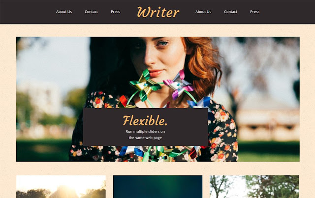 Writer-Responsive-Blogger-Template