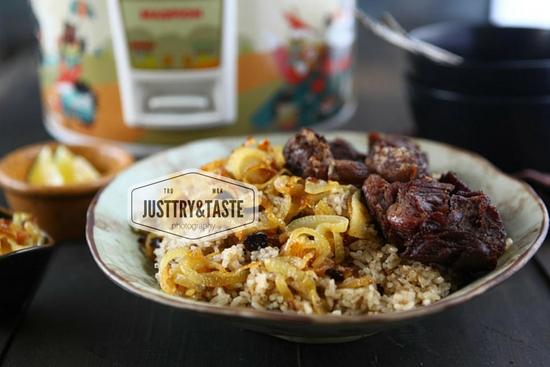 Resep Nasi Kebuli Daging Sapi