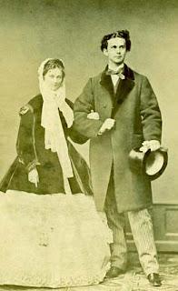 Louis II de Bavière 1845-1886 et duchesse Sophie Charlotte en Bavière 1847-1897