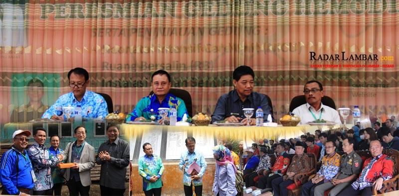 Mad Hasnurin Audiensi Bersama ACP Delegasi Unila