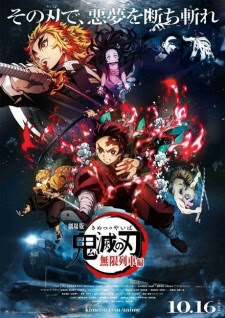 فيلم انمي Kimetsu no Yaiba Movie: Mugen Ressha-hen مترجم بعدة جودات