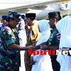 Kapolda Sulsel, Gubernur dan Pangdam,Sambut Kedatangan Panglima TNI dan Kapolri