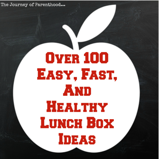 Realistic, Easy, Healthy Lunches