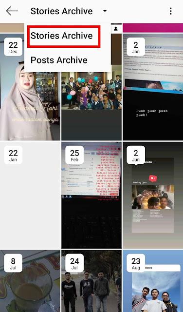 Cara Membagikan Ulang (Repost) Postingan dan Story Lama Instagram Ke Instastory
