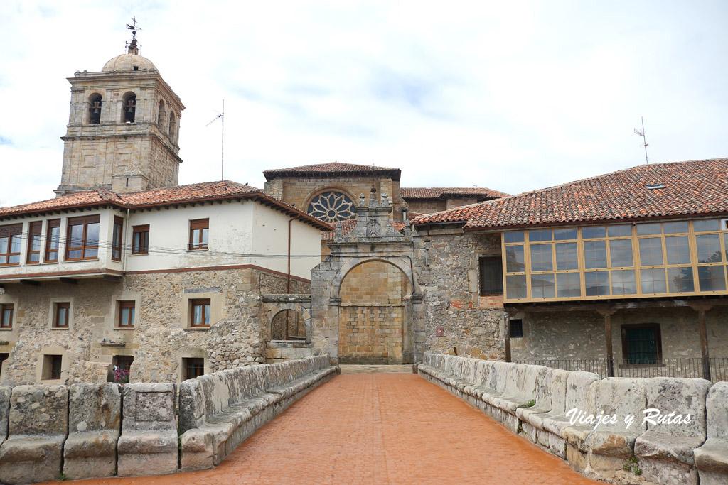 Puerta del Portazgo de Aguilar de Campoo.