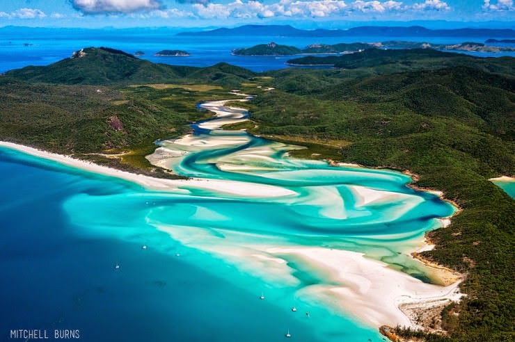 2. Whitehaven Beach, Whitsunday Island, Queensland, Australia - 29 Most Exciting Beaches to Visit