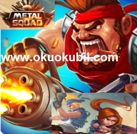 Metal Squad Shooting Game v2.0.8 Sınırsız Para Mod Apk İndir 2020