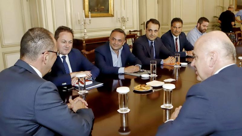 Ολοκληρώθηκε η δεύτερη σύσκεψη στο Μέγαρο Μαξίμου για το θέμα της Σαμοθράκης