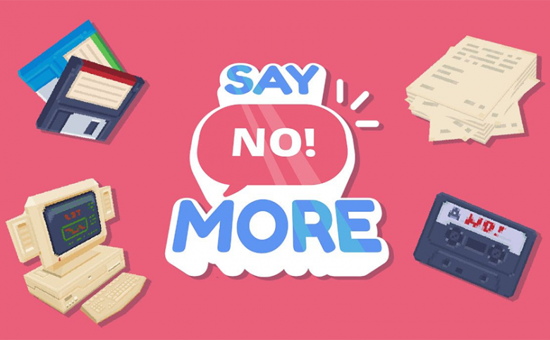 "We are saying ""No!"" to 2020 - Say No! More is now launching in 2021"