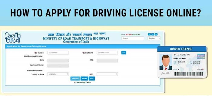How to Apply online for Driving Licence in India