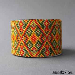 купить украшения из бисера украина, в этническом стиле anabel