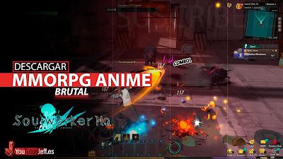 como descargar SoulWorker, mmorpg anime