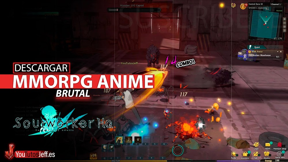 MMORPG ANIME, Descargar SoulWorker para PC Gratis
