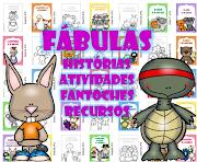 FÁBULAS - ATIVIDADES, RECURSOS E FANTOCHES - DOWNLOAD DE HISTÓRIA GRÁTIS