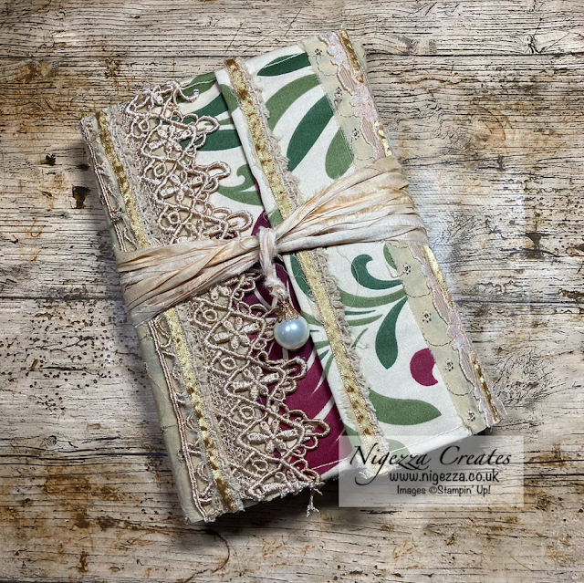 Junk Journal Soft Fabric Cover Tutorial
