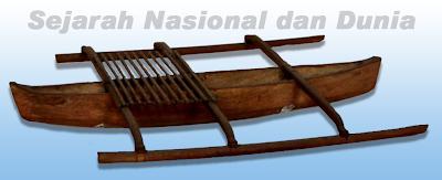 Gambar ilustrasi Perahu Bercadik