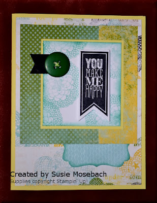 Stampin' Up!, Stamp with Trude, greeting card