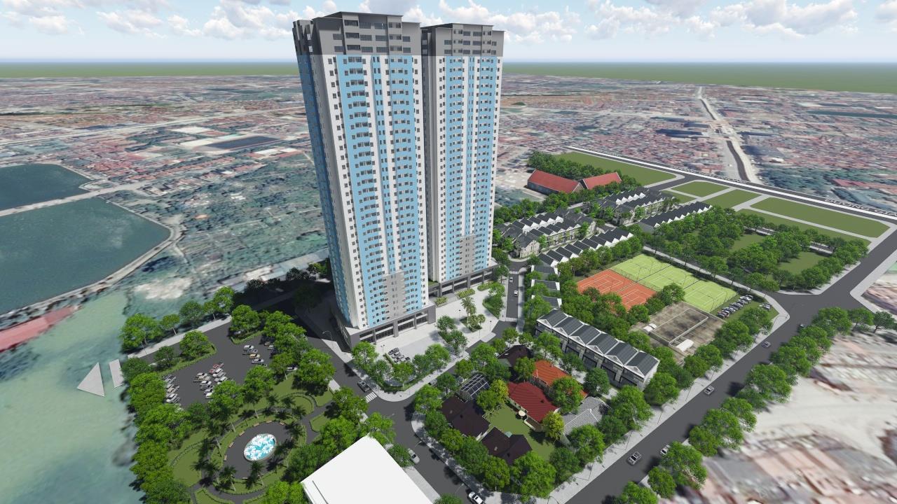 Tổng quan dự án chung cư Osaka Complex Hoàng Mai
