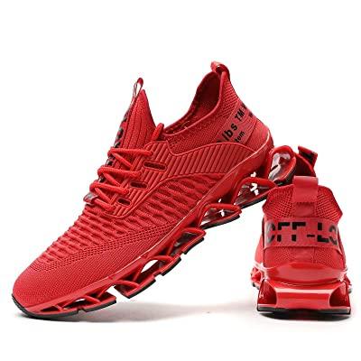 Chopben Giày chạy bộ nam Blade Blade Thời trang không trượt Giày thể thao thoáng khí Lưới mềm Đế nhẹ Thường thể thao Giày đi bộ nhẹ