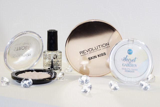 makeup revolution, seche vite, bell secret garden