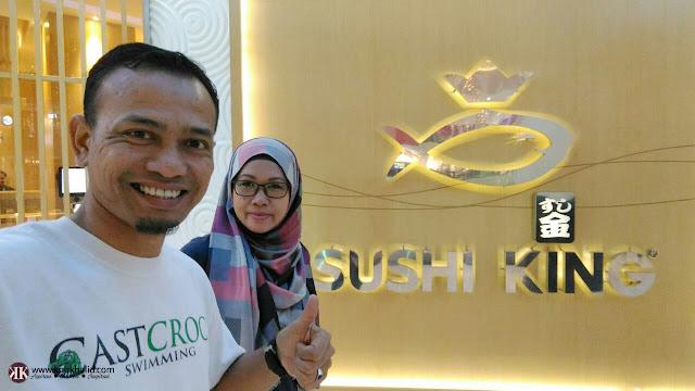 Sushi King Sunway Piramid, Khir Khalid, Blogger Malaysia,
