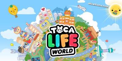 تحميل توكا ورلد لايف Toca Life World APK مجانا
