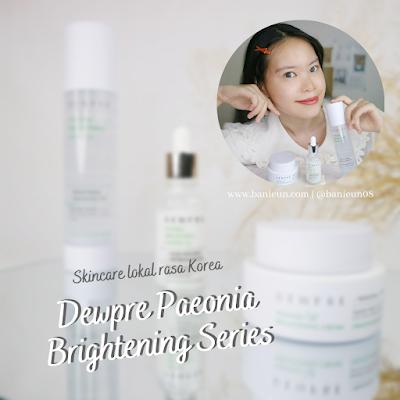 Dewpre Paeonia Brightening Series