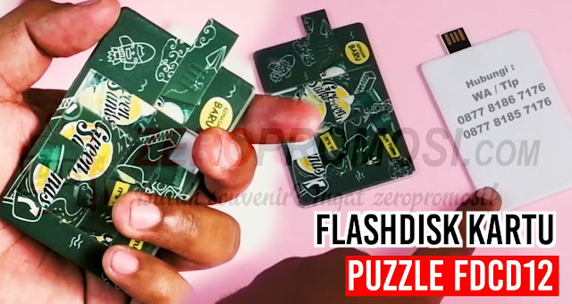 USB Kartu Puzzle - flashdisk Kartu Puzzle FDCD12, Usb Card Puzzle, USB Card Puzzle, Flashdisk Kartu