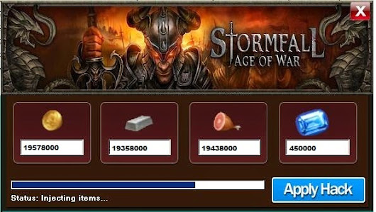 Das Stormfall Age Of War Hack Tool