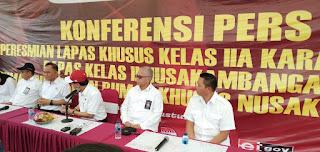 Kepala BNN RI Usulkan Pembangunan Tempat Rehabilitasi Khusus di Nusakambangan