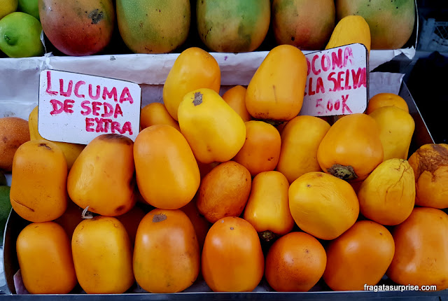 Gastronomia peruana: lúcuma