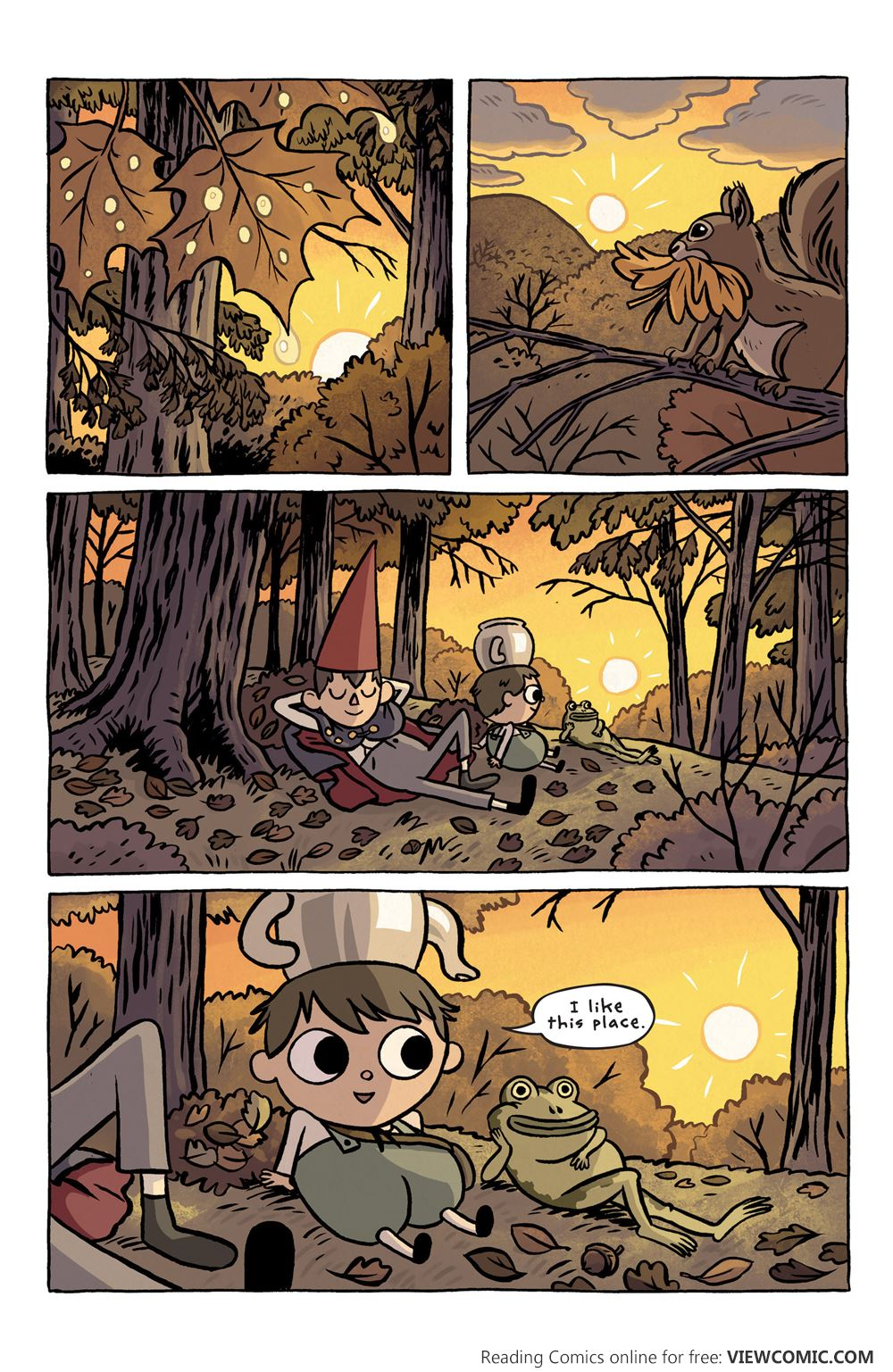 Over The Garden Wall 002 2015 Read All Comics Online For