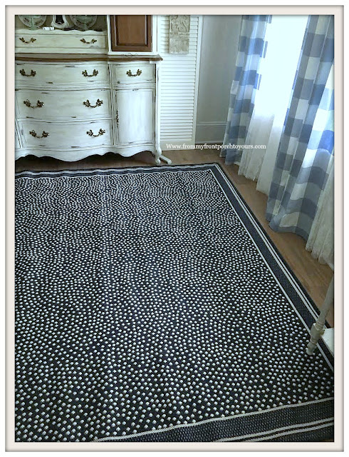 Dining Room-Indoor-Outdoor Rug-Ballard Designs-From My Front Porch To Yours